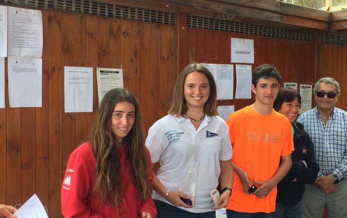 Nina Esteba guanya la Copa Catalana en categoria Júnior i Toni Garcia queda tercer en Sènior