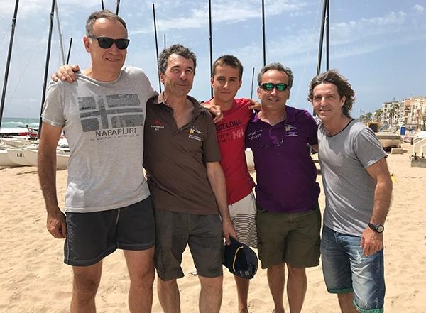 El Club Nàutic Tamariu, Campió de Catalunya de Clubs de Patí a Vela 2017